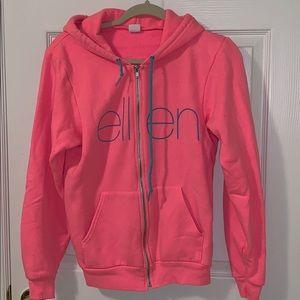 The Ellen Degeneres Show Neon Pink Sweatshirt